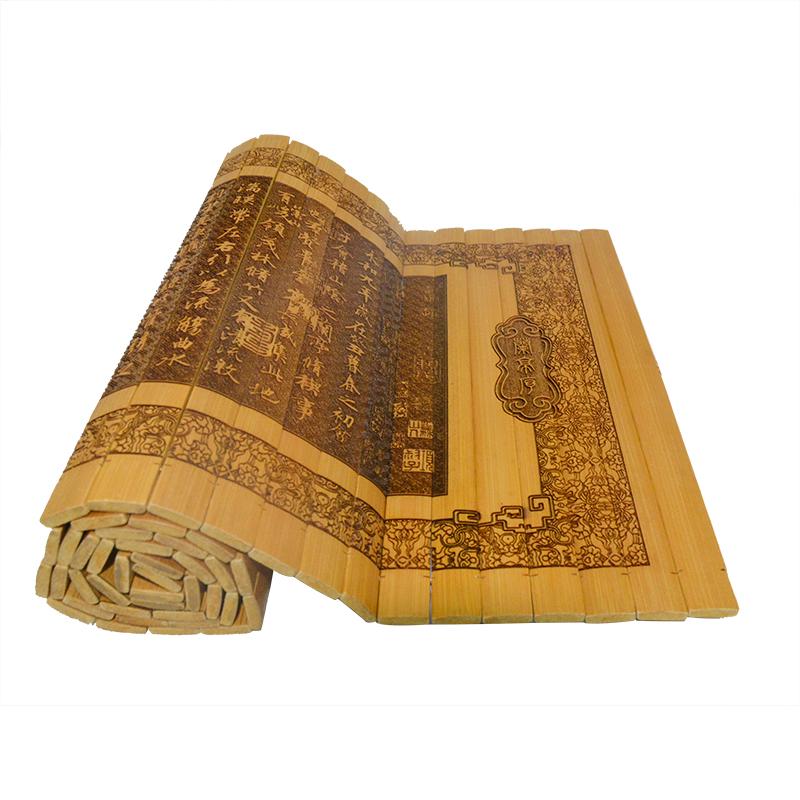 我国是世界上最早使用竹制品的国家
